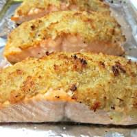Horseradish-Crusted Salmon