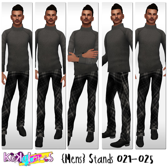 [KoKoLoReS]{Mens}Stands 021 - 025