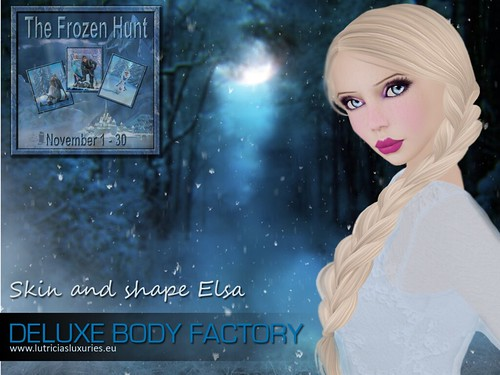 [DBF] Skin and shape Elsa The frozen hunt by Lutricia Roux
