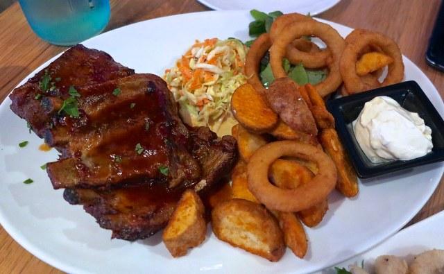 Baby Back Pork Spare Ribs