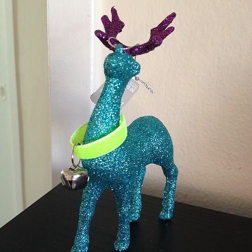 Day 30:30 Sparkly Reindeer.