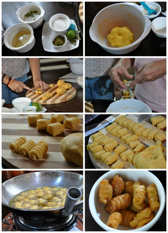 Steps in Making Gorgorya