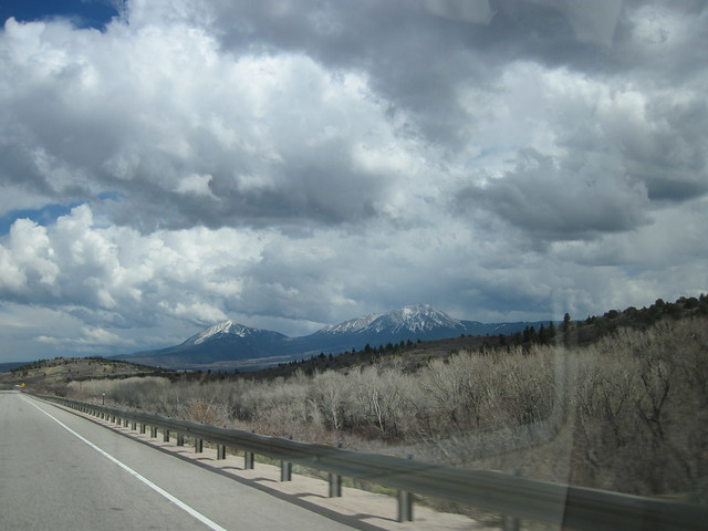 Picture from Highway 160 In Colorado
