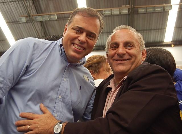 DPAA e prefeito João Azzi, de Desterro de Entre Rios