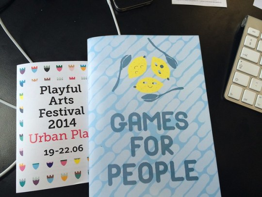 Games for People by Pat Ashe and George Buckenham