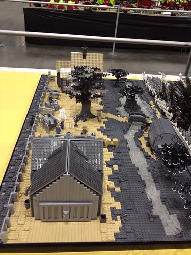 Wizard of Oz collaborative by VirtuaLug at Brickworld 2013