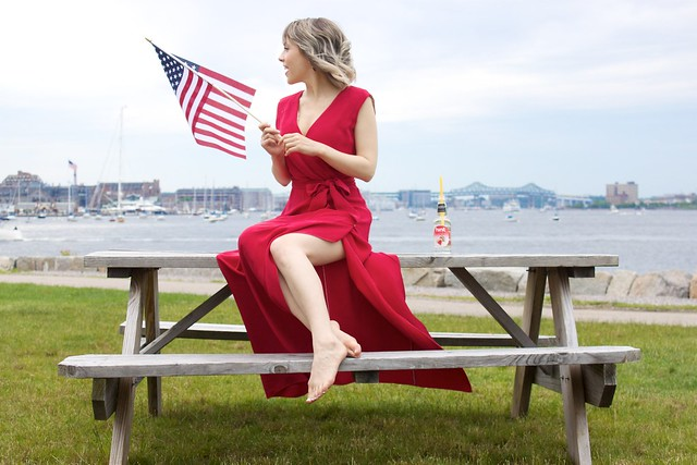 bow and drape red white beautiful lookbook red diane maxi dress