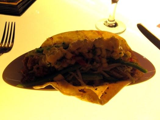 Crispy Oyster Taco at SoBou, New Orleans LA