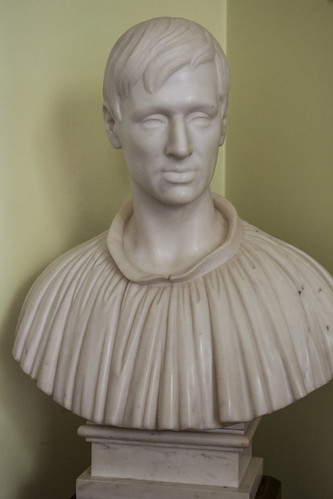 Bust of a young Newman