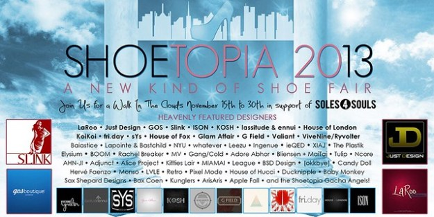 { SHOETOPIA 2013 - COMING SOON! }