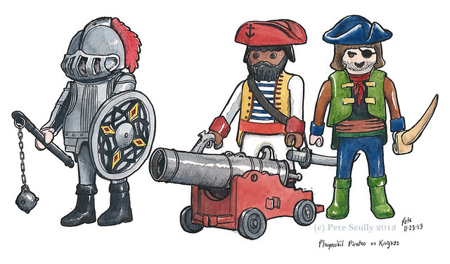 playmobil pirates and knights