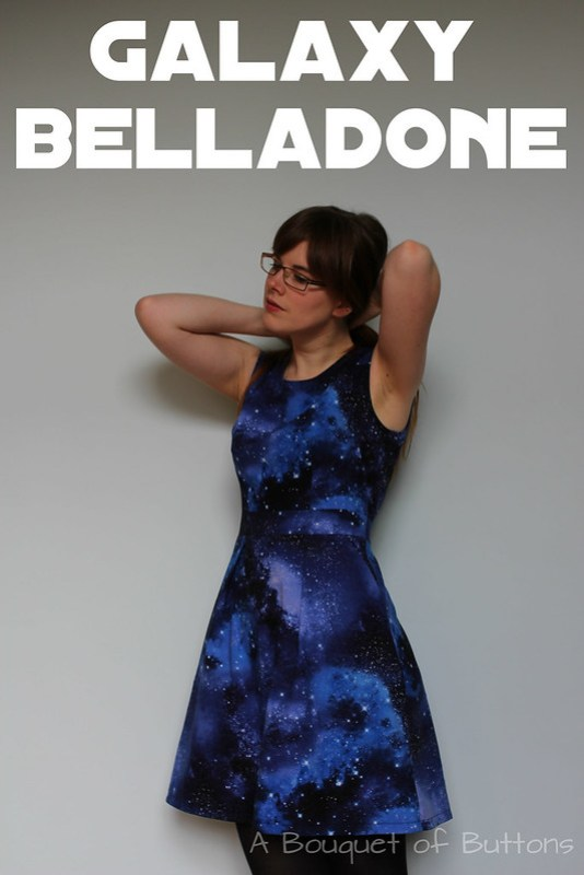 Galaxy, Belladone, Deer & Doe, Dress, Jurk, Timeless Treasures