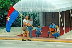Viet Cong Flag Passes Miami Police: 1972