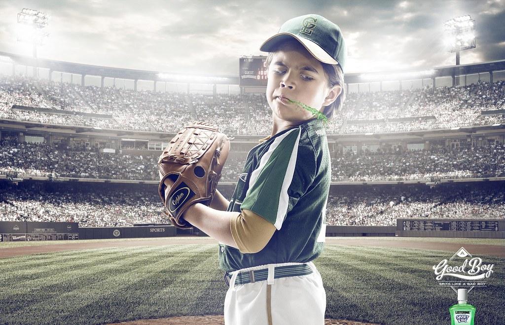Lizterine Kids - Good Boy Baseball PLayer