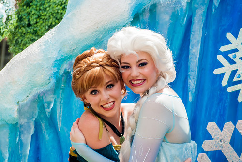 Anna and Elsa  Andy Sabis  Flickr