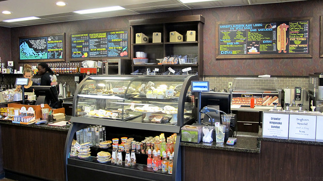 Snack and sandwich counter