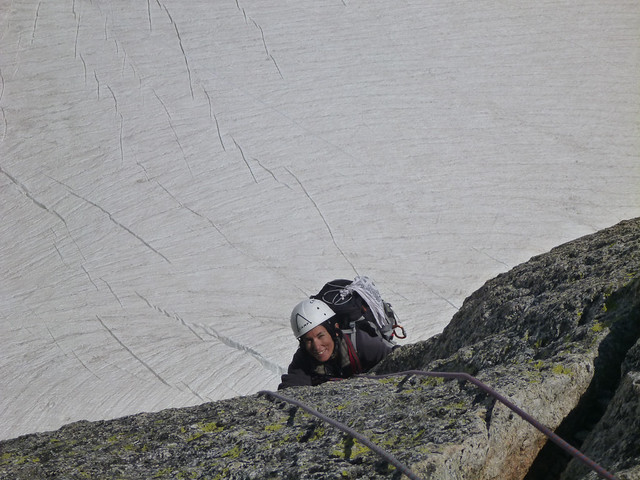 Tra ghiaccio e roccia