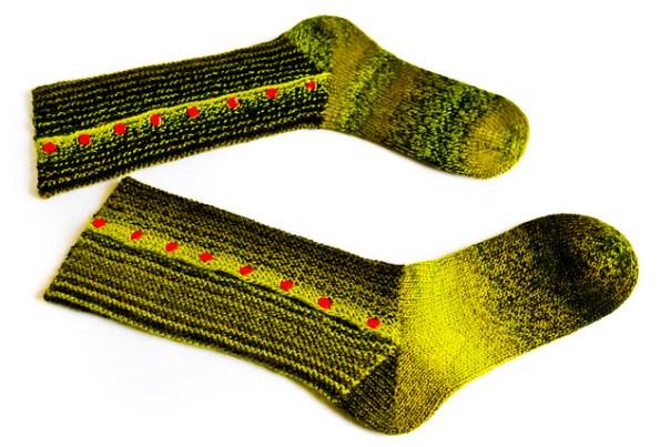 Stuffed Olive Socks