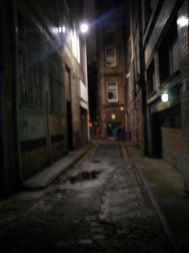 Midnight Alleyway