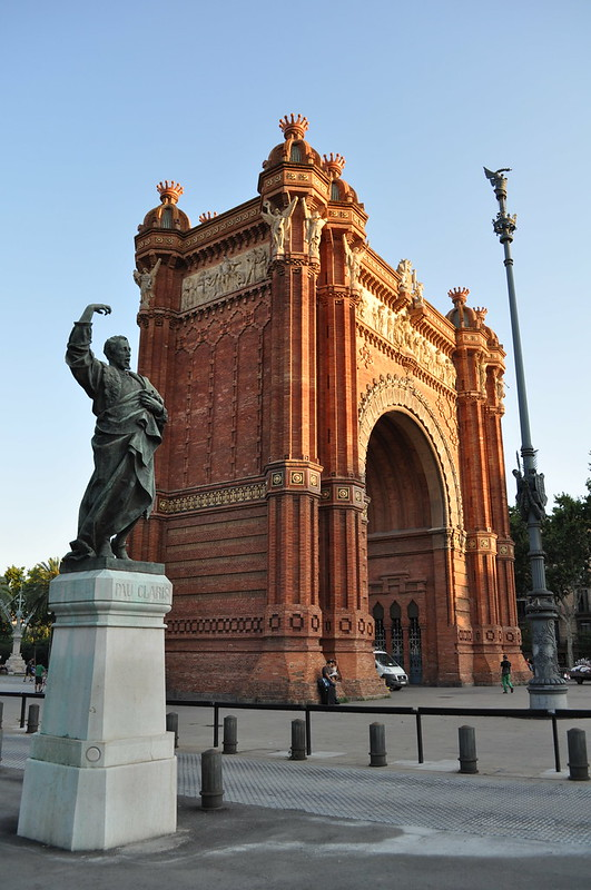 BARCELONA - Arco del Triunfo