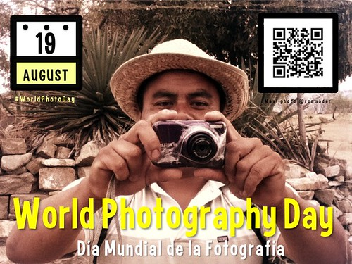 World Photography Day is August 19 #worldphotoday