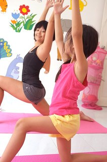 yoga with aina