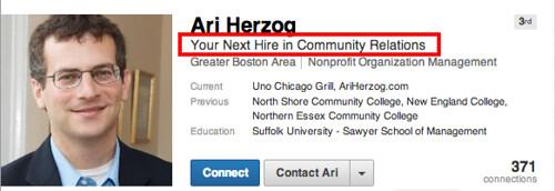 Ari Herzog   LinkedIn