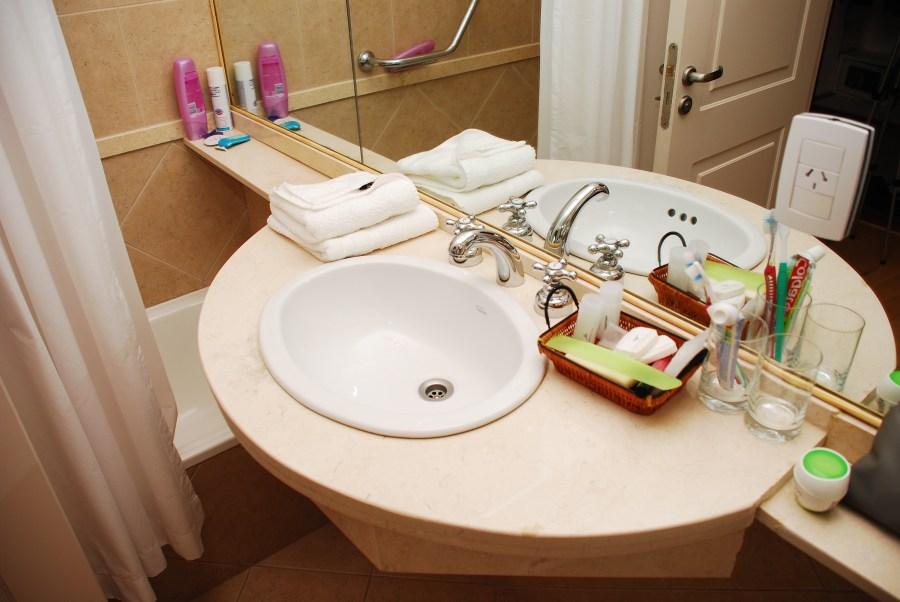 Baño del Hotel Sol Arrayán