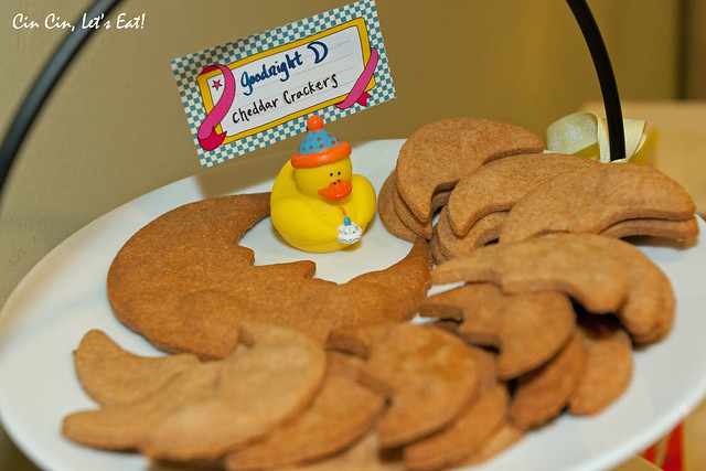 baby shower - crackers