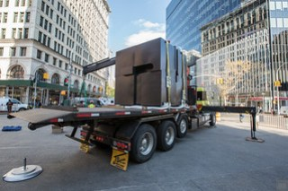 The Cube at Astor Place