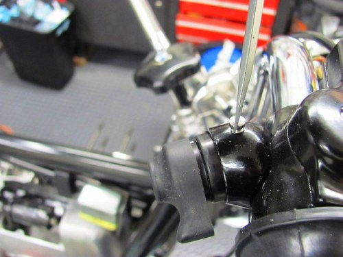 Attaching Switch to Switch Housing