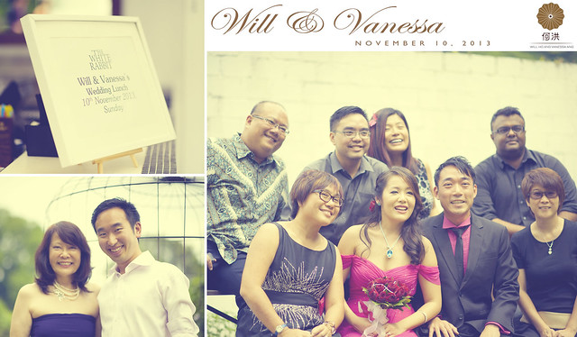 Will & Vanessa Wedding Celebration - White Rabbit Singapore