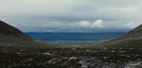 Eerie light over Kallatvatnet