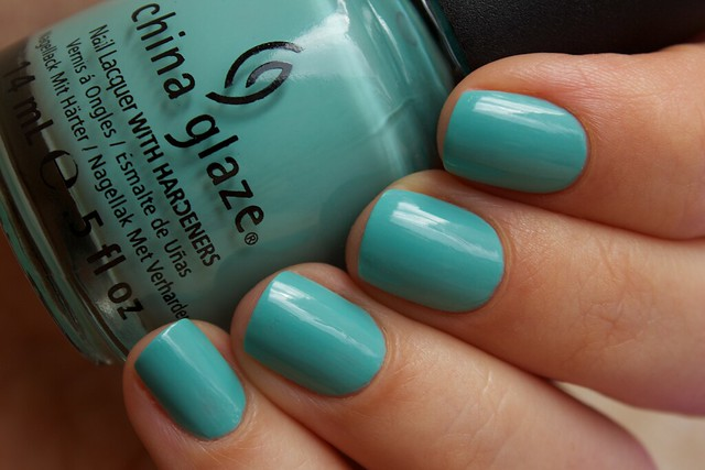 04 China Glaze For Audrey swatches