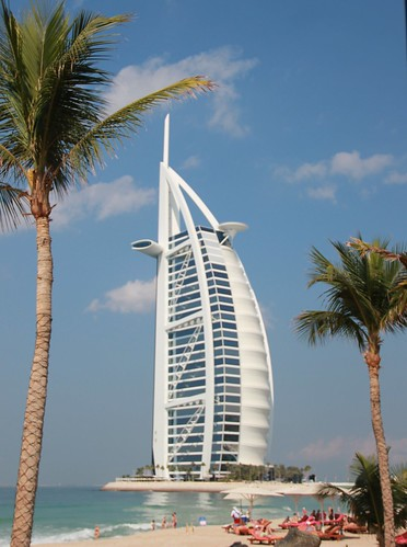 Iconic Al Burj in Dubai