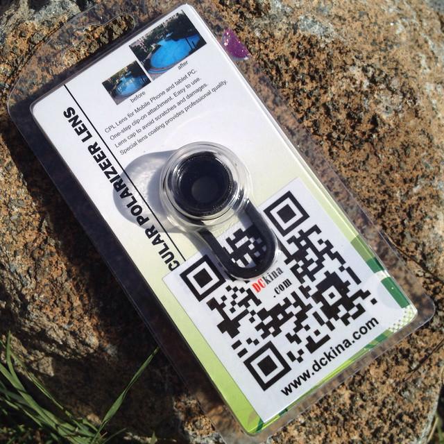 Clip N Slide Circular Polarizer (CPL) Filter Lens for Smartphones