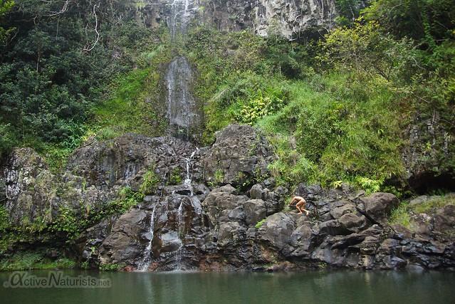 naturist 0002 Na'ili'ili-haele, Maui, Hawaii, USA