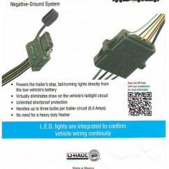 Uhaul Hitch Wiring Diagram Front Wheel Drive Suspension U Haul Trailer Harness : 29 Images - Diagrams   Creativeand.co