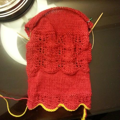 Something new #knitting #wip