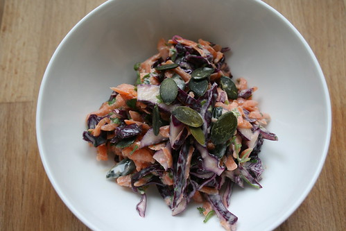 autumn slaw by the james kitchen