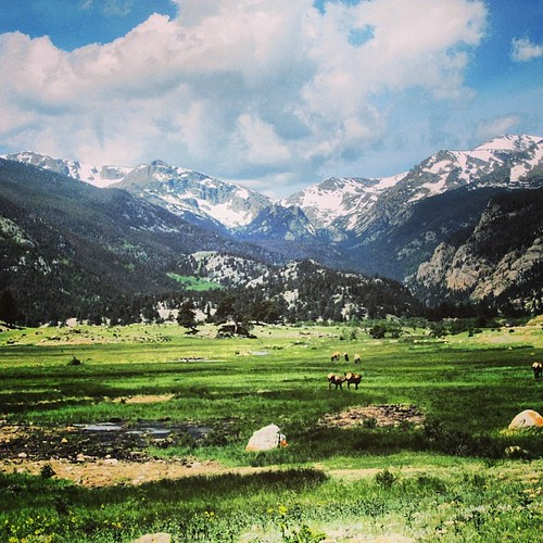 Elk Valley #rockymountains #colorado by @MySoDotCom