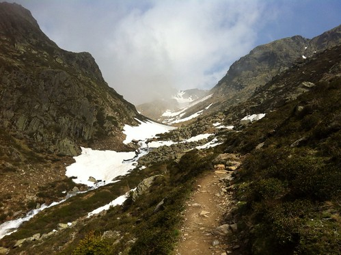 Aufstieg Tiefrastenhütte