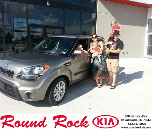 Thank you to Robert Lacoste on your new 2013 Kia Soul from Kelly  Cameron and everyone at Round Rock Kia! by RoundRockKia