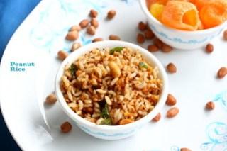 Peanut-rice