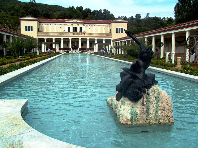 Getty Villa, Langdon and Wilson c.1970; Rodolfo Machado & Jorge Silvetti, Renovations 1997-2006