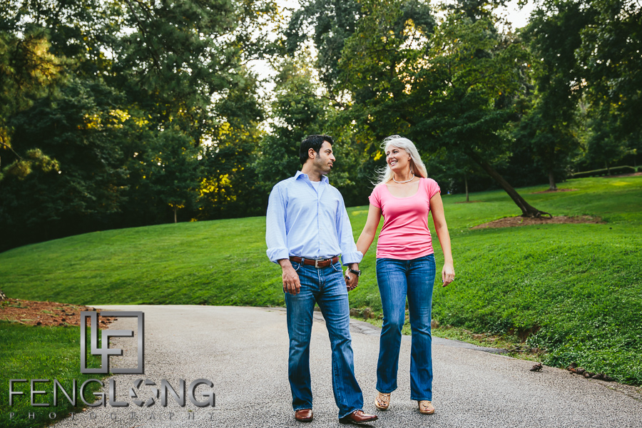 Jani & Mike's Engagement Session | Lullwater Park | Atlanta Persian Wedding Photography
