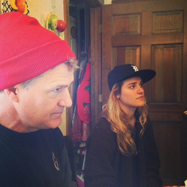 Christmas with Team Zissou and Sk8er Boi. #latergram #christmas