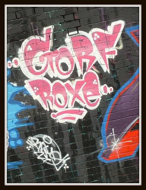 Gorfjam street art and Graffiti, Cardiff