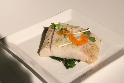 Buderim ginger & lime spiked barramundi