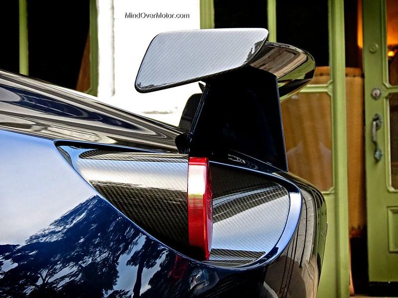 Aston Martin V12 Zagato Carbon Fiber Rear Spoiler